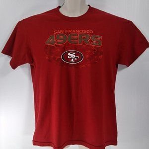 NFL San Francisco 49ers Large Red T-Shirt
